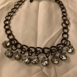 American Eagle Statement Necklace Long Jewelry Gem